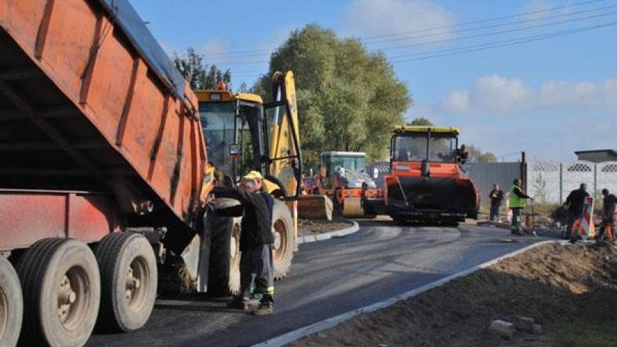Budowa ulicy Sikorskiego ku końcowi