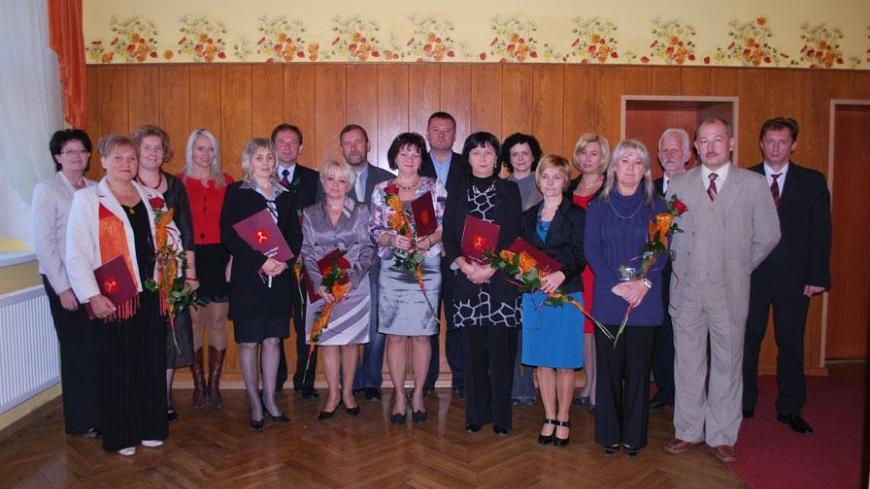 Nagrody Burmistrza Miasta i Gminy Nekla z okazji Dnia Edukacji Narodowej
