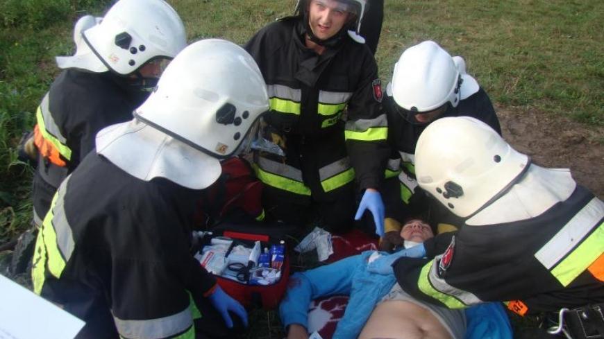 III miejsce w I Zawodach w Ratownictwie Medycznym Ochotniczy Straży Pożarnych o puchar burmistrza Miłosławia