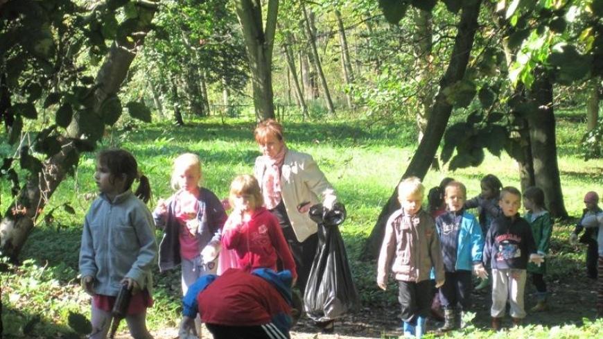 Sprzątanie Świata przedszkolaków
