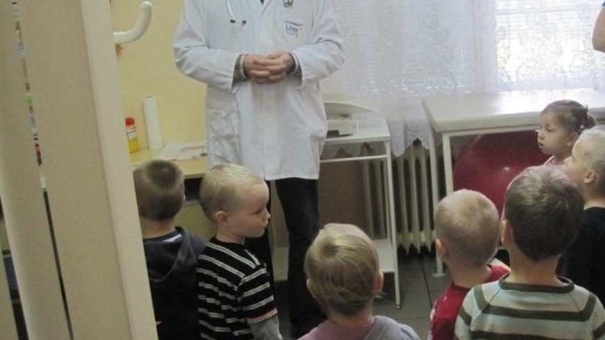 Przedszkolaki w Przychodni Lekarskiej