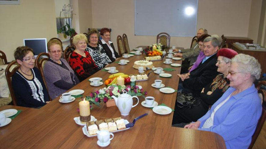 Noworoczne spotkanie z emerytami Urzędu Miasta i Gminy Nekla