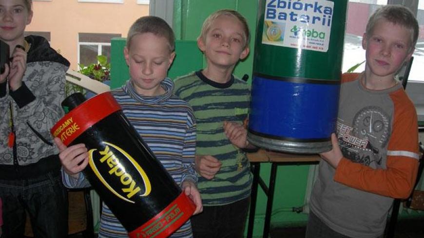 Zbieramy zużyte baterie! – Pomóż chronić środowisko!