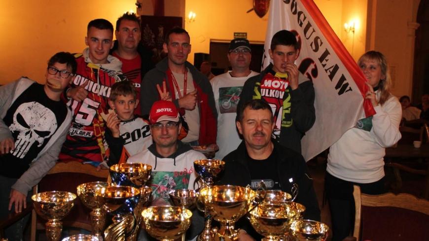 Klub Motorowy MKS Nekla na podium