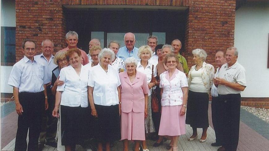 Spotkanie klasowe 7 klasy z 1953r.