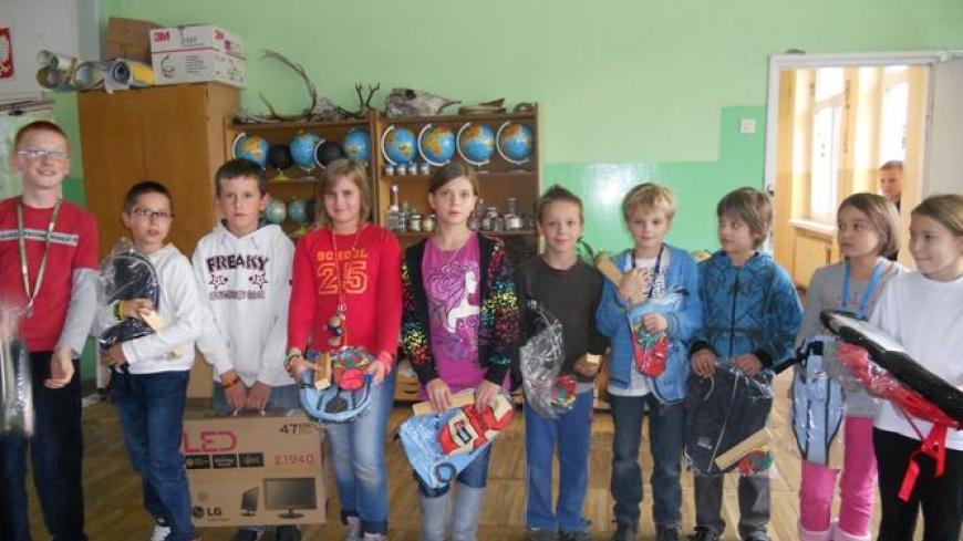Podsumowanie zbiórki baterii 2010/11 – nagrody wręczone