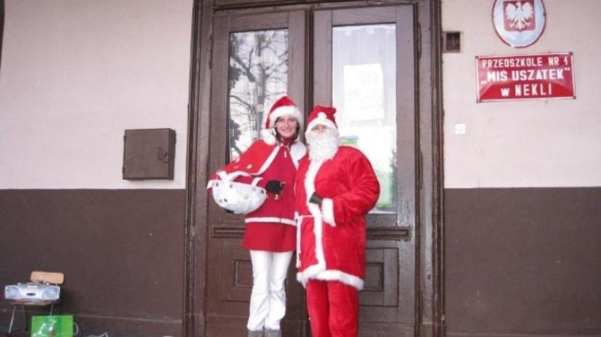 Wizyta świętego Mikołaja w przedszkolu