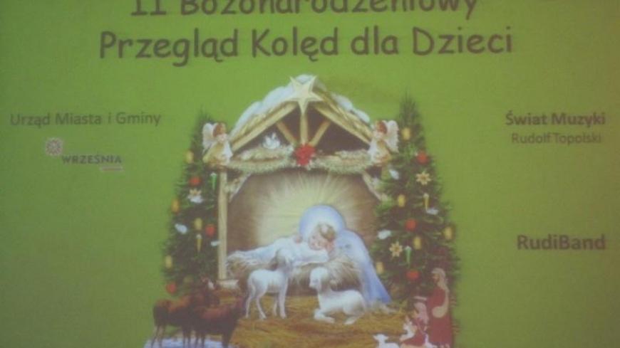 II Bożonarodzeniowy Przegląd Kolęd we Wrześni